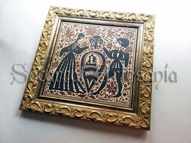 Reproducción de un socarrat del siglo XV como regalo a una empresa. Soc-Art. Camateu