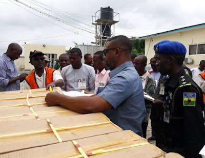 Ekiti Election: INEC Begins Distribution Of Sensitive Materials