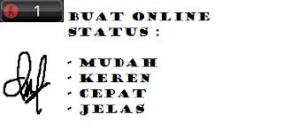 Cara Pasang Gadget Online Status Di Blog.