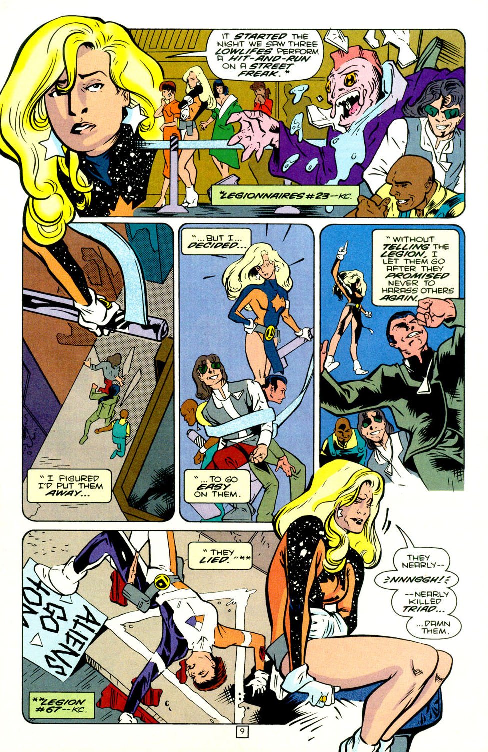 Legion of Super-Heroes (1989) 70 Page 10