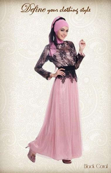 Model Baju Muslim Kebaya Lebaran Modern Terbaru