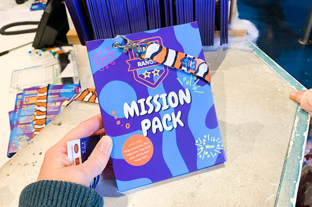 holding a Mission Pack