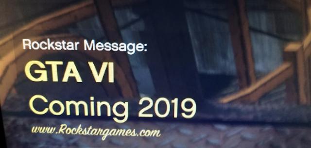 El anuncio de GTA VI no era real