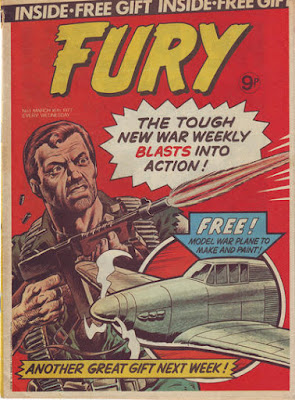 Marvel UK, Fury #1