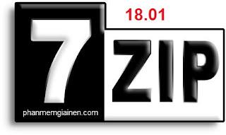7-zip 18.01 released. Tải 7-zip mới nhất 28-01-2018