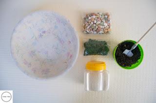 materiali per giardino in miniatura