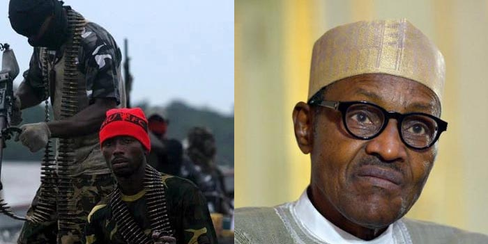 Niger Delta militants plan to colonize Nigeria economically: Avengers replies Buhari