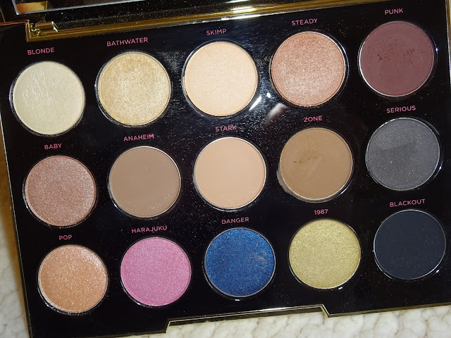 Urban decay gwen stefani pallette swatches