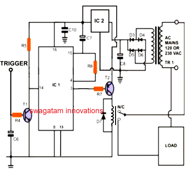 cd 4013 toggle switch design trick 1 electronics hobby