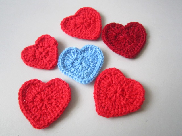 Easy Crochet Heart Step By Step The Happy Unraveler
