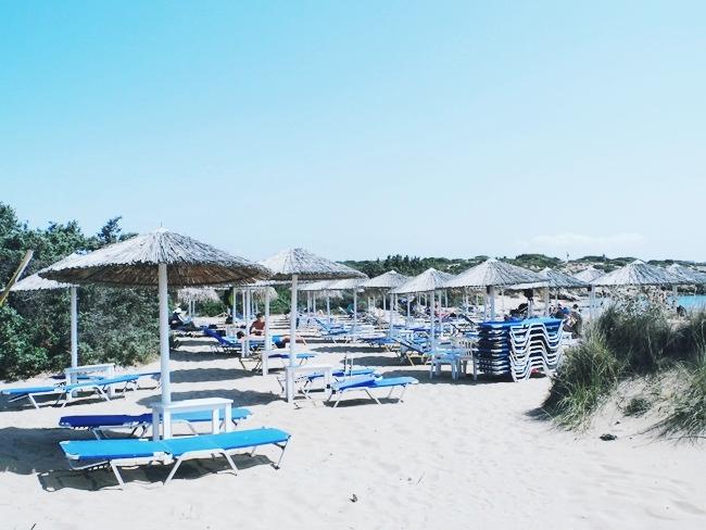 Paros ostrvo plaze