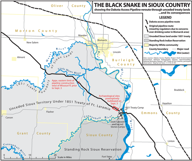 Standing Rock Treaty Lands