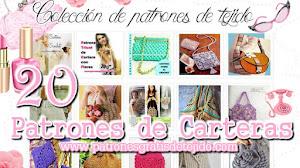 20 patrones de bolsos tejidos / Colección