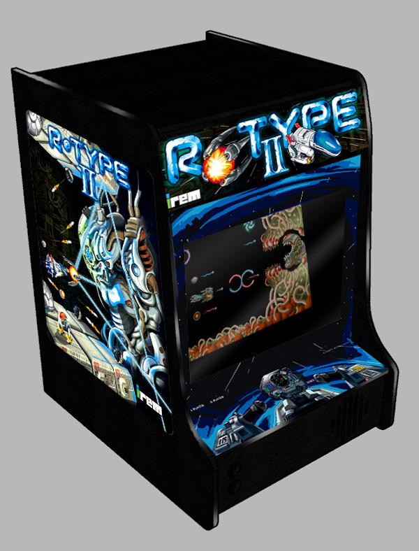 The Artcade R Type Ii Bartop Art