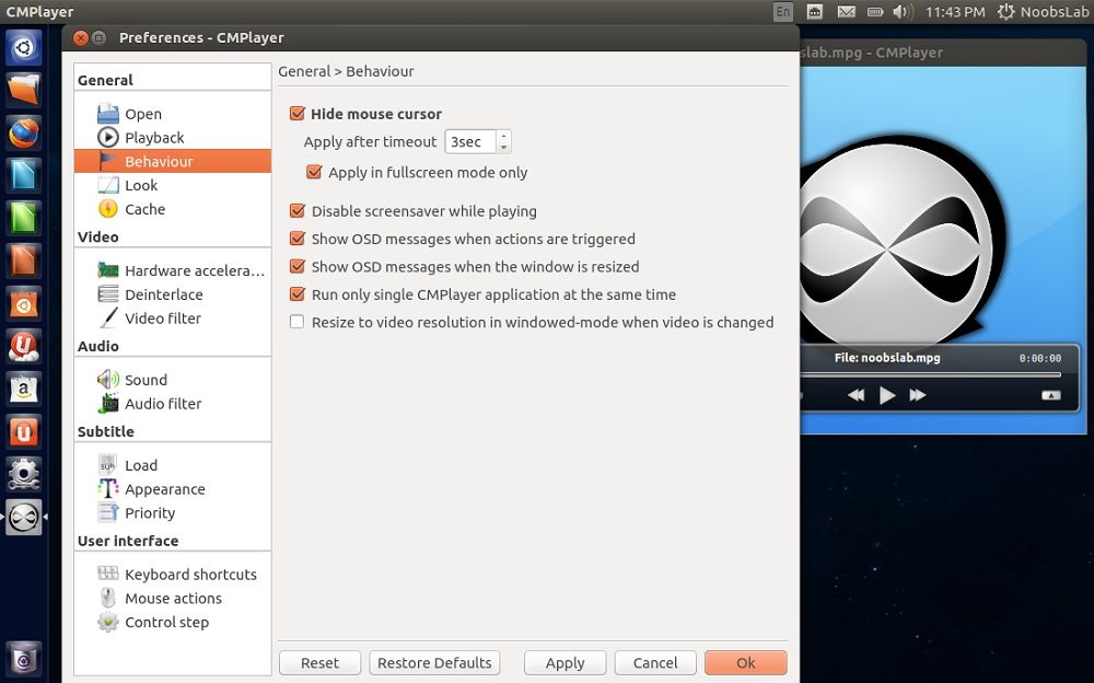 CMPlayer is Powerful Minimal Light-weight Media Player, Install in