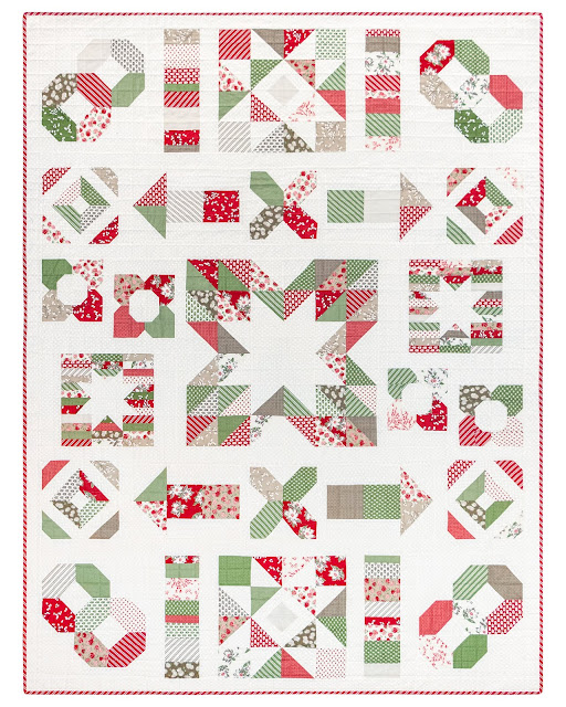 Charming Baby Sew Along sampler quilt