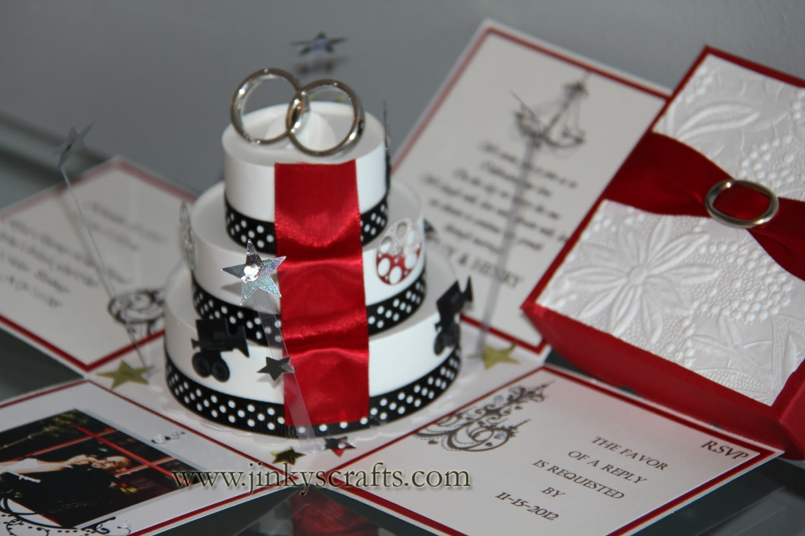 Creative Wedding Invitations: Jinky's Crafts & Designs: March 2013
