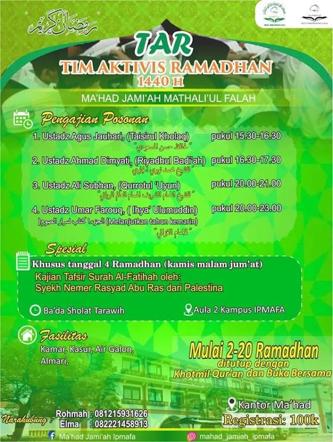 Aktivitas Ngaji Ramadhan 1440