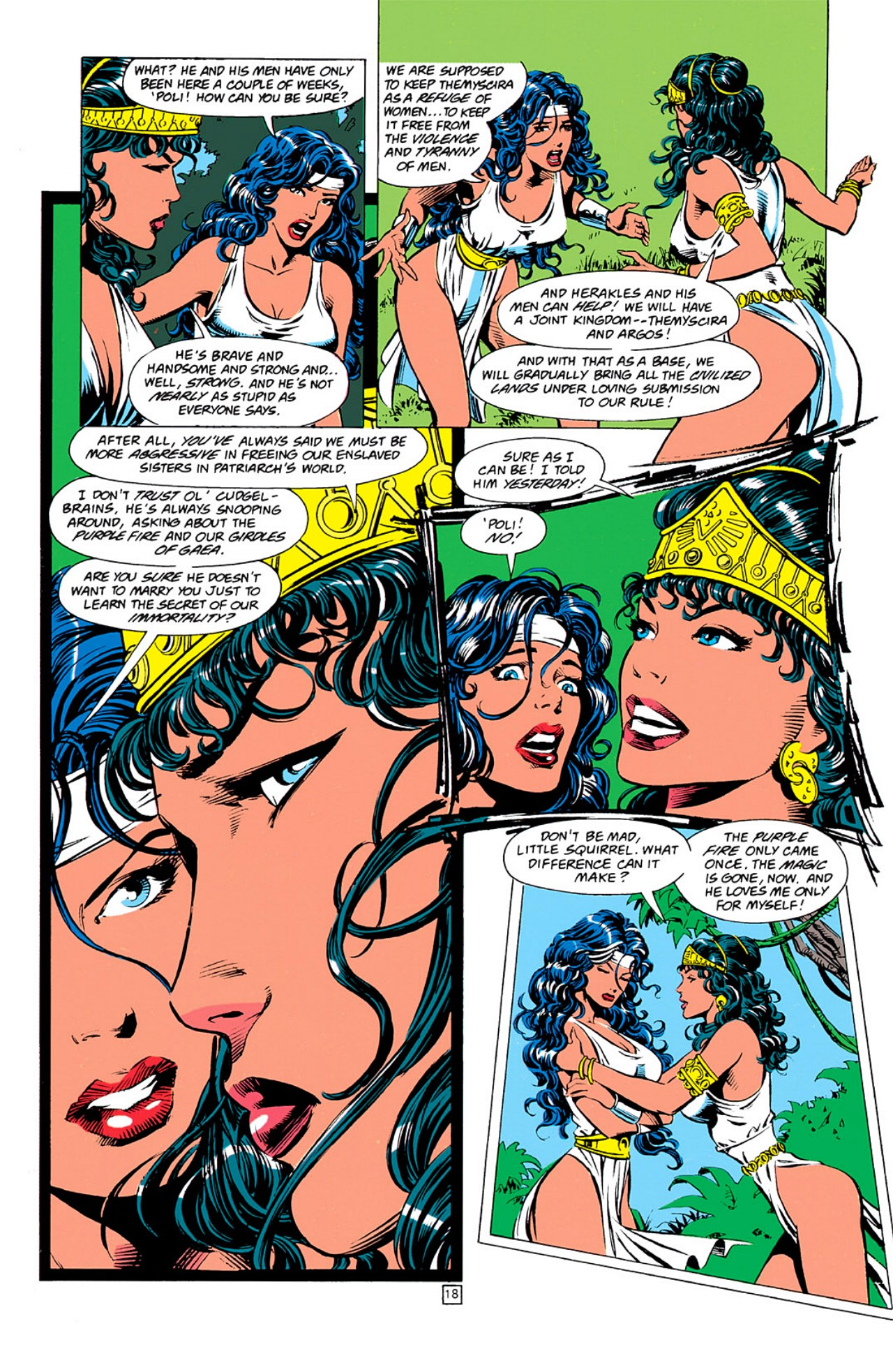 Read online Wonder Woman (1987) comic -  Issue #0 - 19