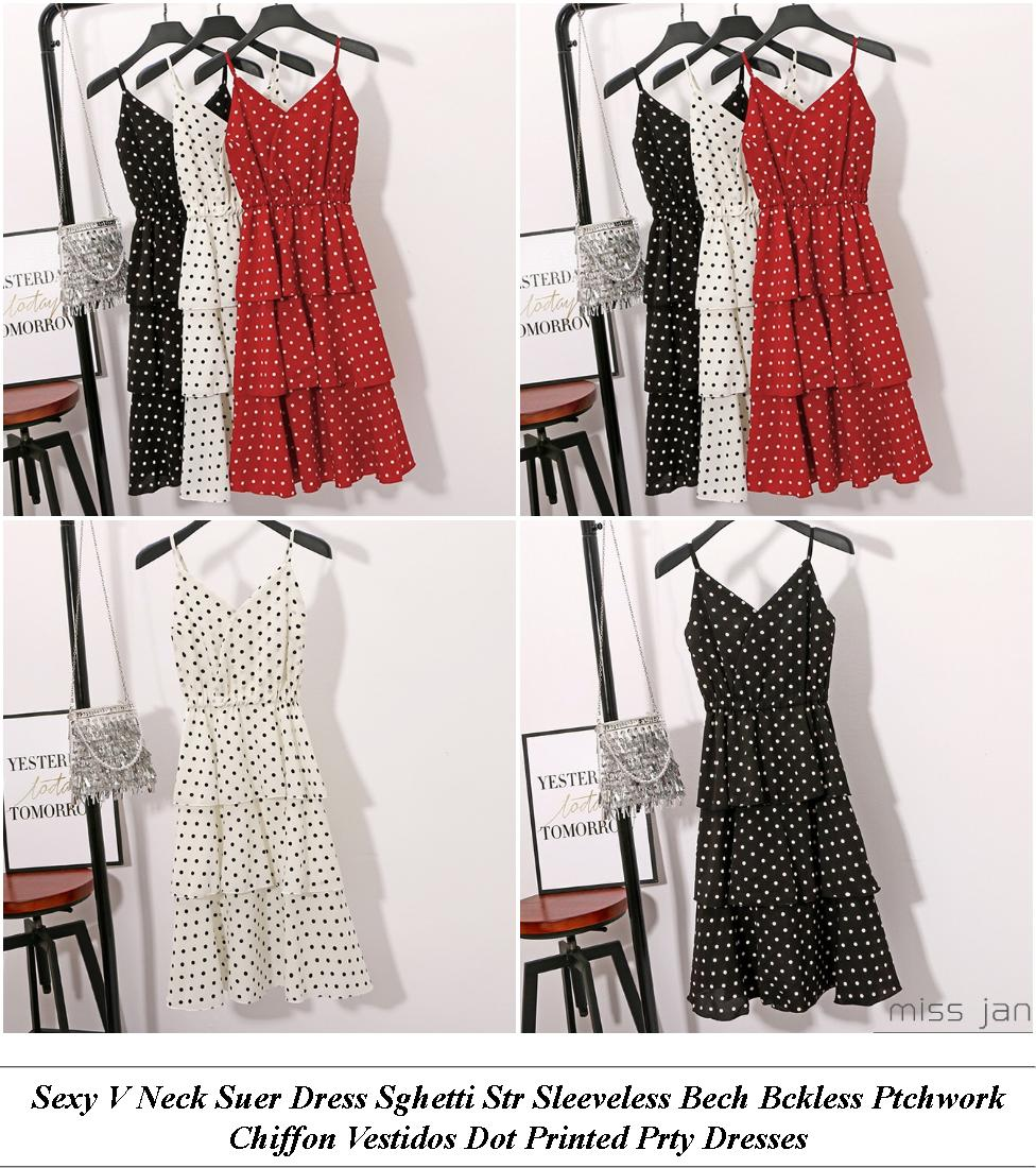 Homecoming Dresses - End Of Summer Sale - Mini Dress - Cheap Ladies Clothes