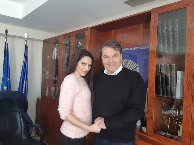 """Η Αλεξία Χιώτη υποψήφια με τον Δημήτρη Καμπόσο και την """"Αλλαγή Πορείας"""""""