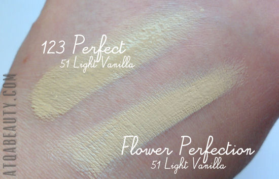 Bourjois, 123 Perfect Foundation & Bourjois, Flower Perfection Foundation