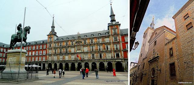 Madri: Plaza Mayor e Igreja de San Ginés