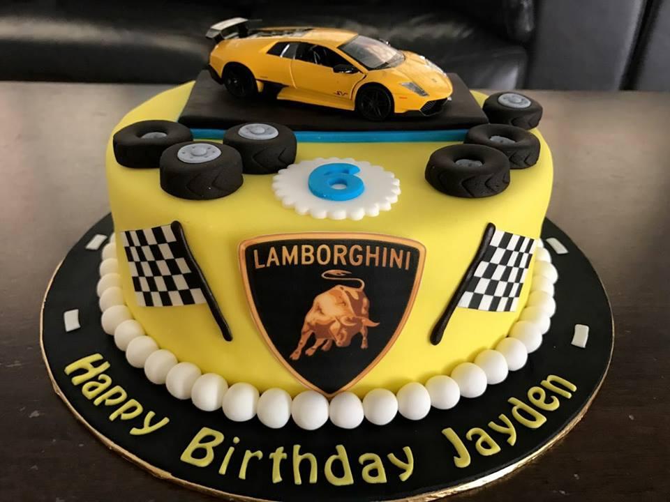 Jenn Cupcakes Amp Muffins Lamborghini Cake