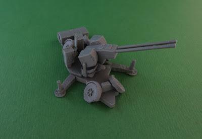 Oerlikon GDF 35mm Twin Cannon Anti-Aircraft Gun picture 6