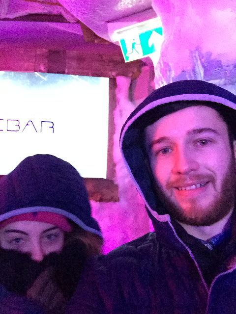 Ice Bar - Amsterdam ice selfies