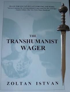 Portada del libro The Transhumanist Wager, de Zoltan Istvan