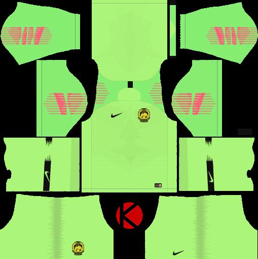 3c5f7540f3e Dream League Soccer Goalkeeper Kits Malaysia ✓ T Shirt Design 2018