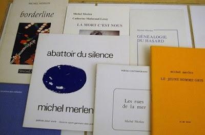 Publications de Michel Merlen, poète français né en 1940