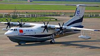 Pesawat Amfibi AG600
