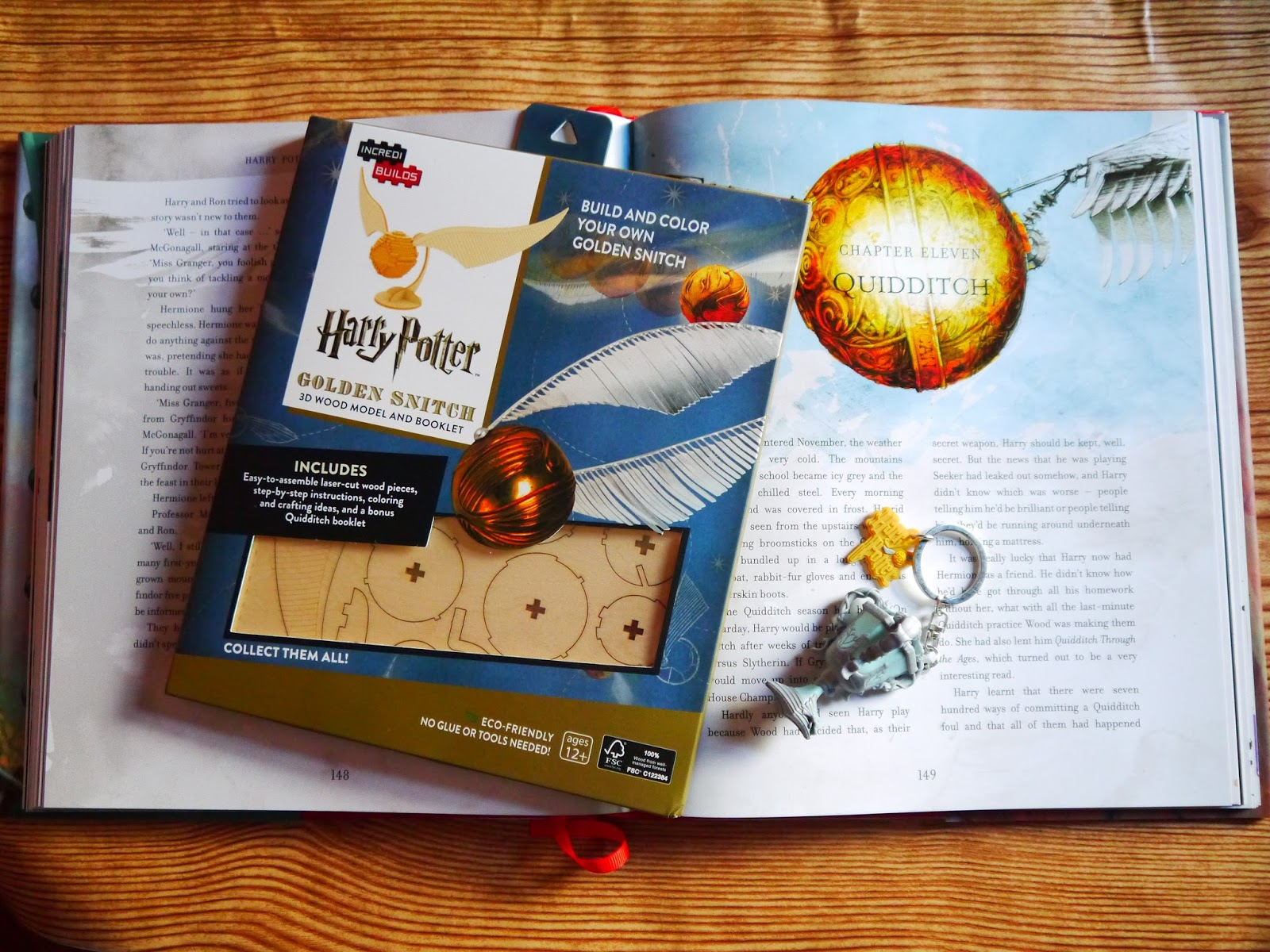 Build A Harry Potter Golden Snitch Dobby Using IncrediBuilds
