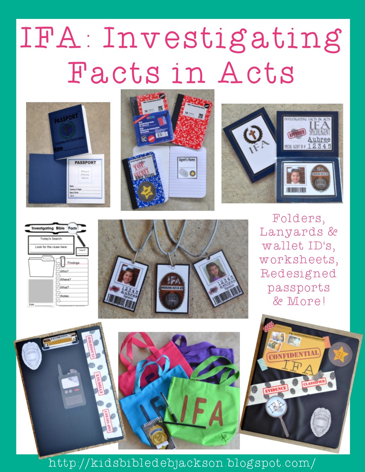 http://kidsbibledebjackson.blogspot.com/2014/10/ifa-investigating-bible-facts-in-acts.html