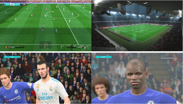 PES 2017 PS4 Stadium Pack + Graphics dari Esterlan Silva