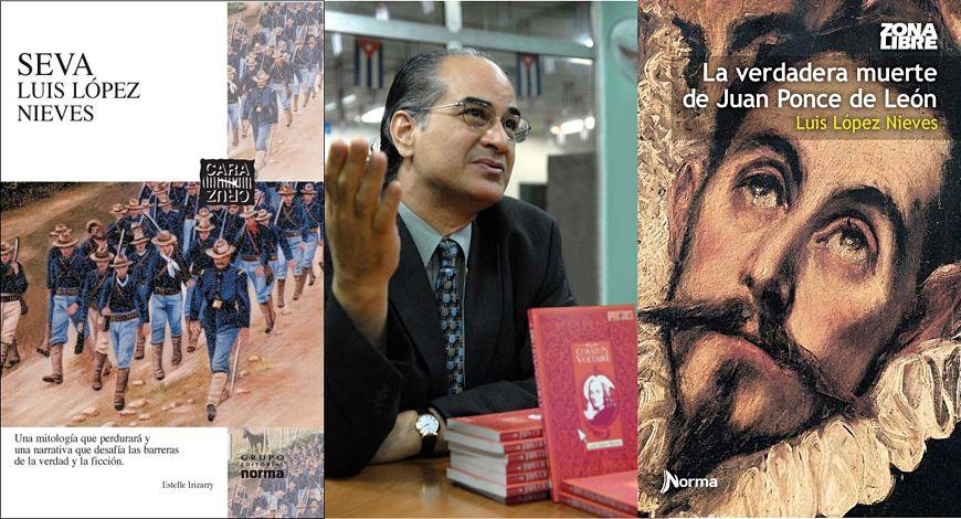 Luis López Nieves y sus libros: La verdadera muerte de Juan Ponce de León y Seva