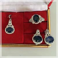 Jual Set Perhiasan Batu Alexandri