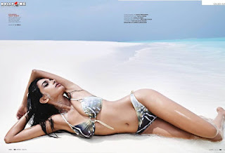 Model Sarah Jane Dias Hot Photoshoot for GQ India Magazine April 2012 issue
