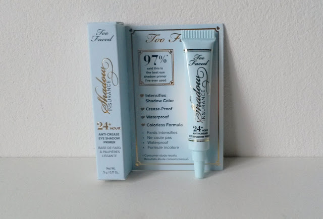 Too Faced, Shadow Insurance Eye Primer Glossybox mars 2016