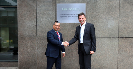 Daimler opens new Regional Center for commercial vehicles in Chennai | Wheelsology.com - World of Wheels