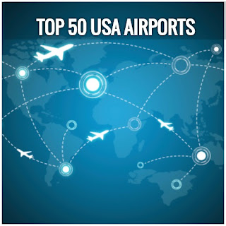 Top 50 International And Domestic Airports In USA