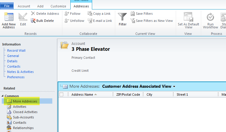 Practical Dynamics CRM: Access Main form fields from Nav