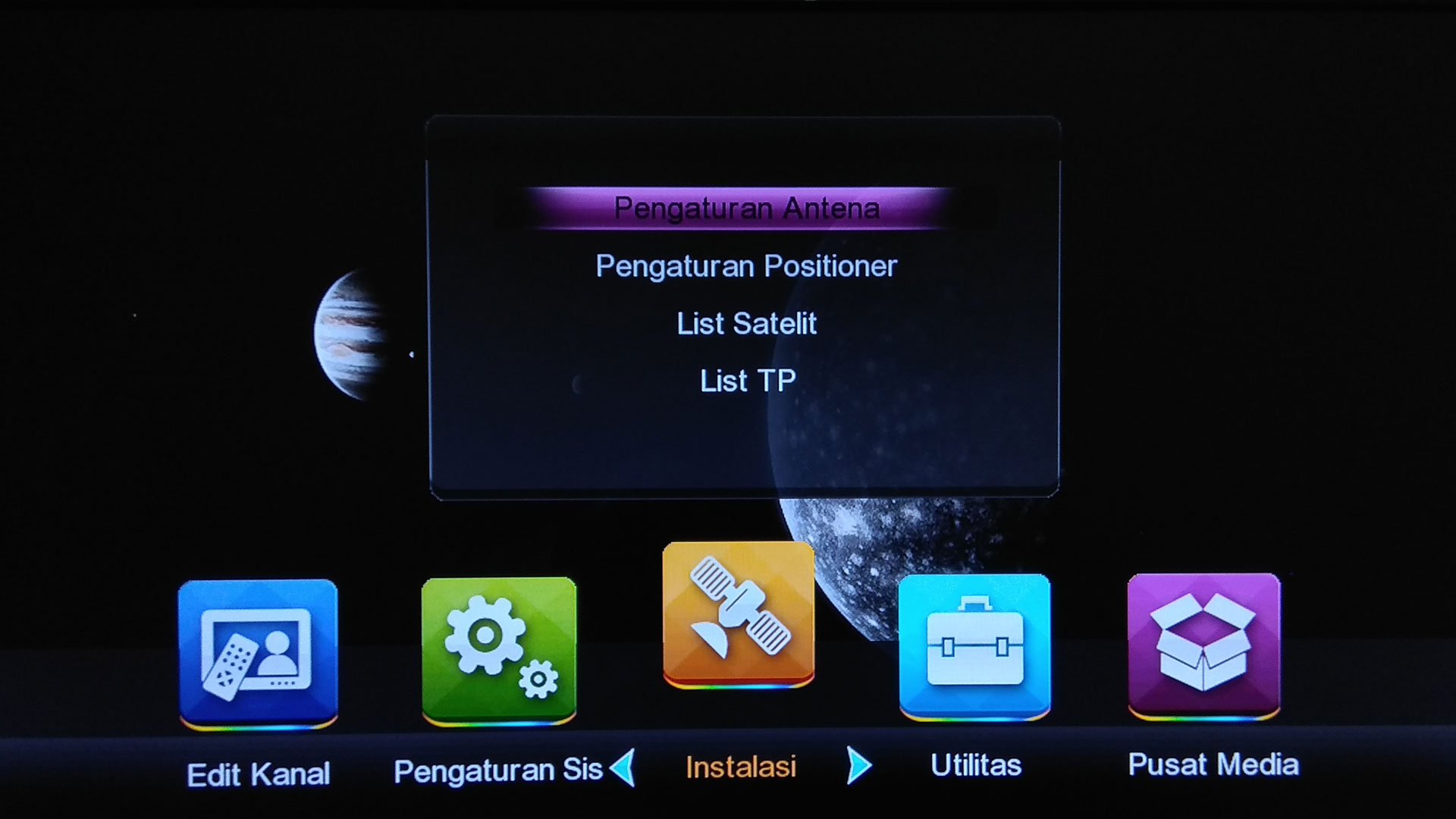 Software Receiver Venus Inova HD Star SW Firmware Baru