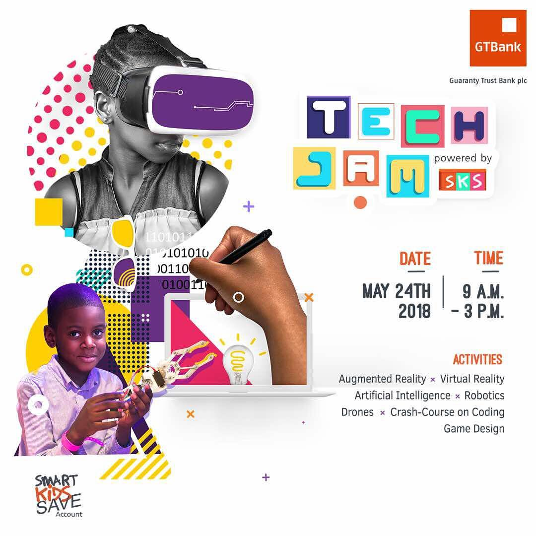 Gtbank%252Bpromos Register Your Child at Tech Jam powered by SKS ( GTBANK Nigeria) ‎