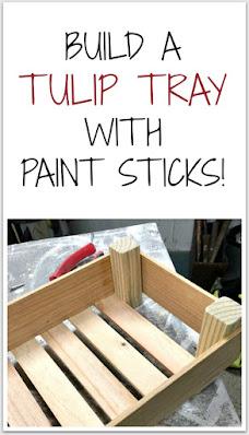 Paint stick Pinterest Pin