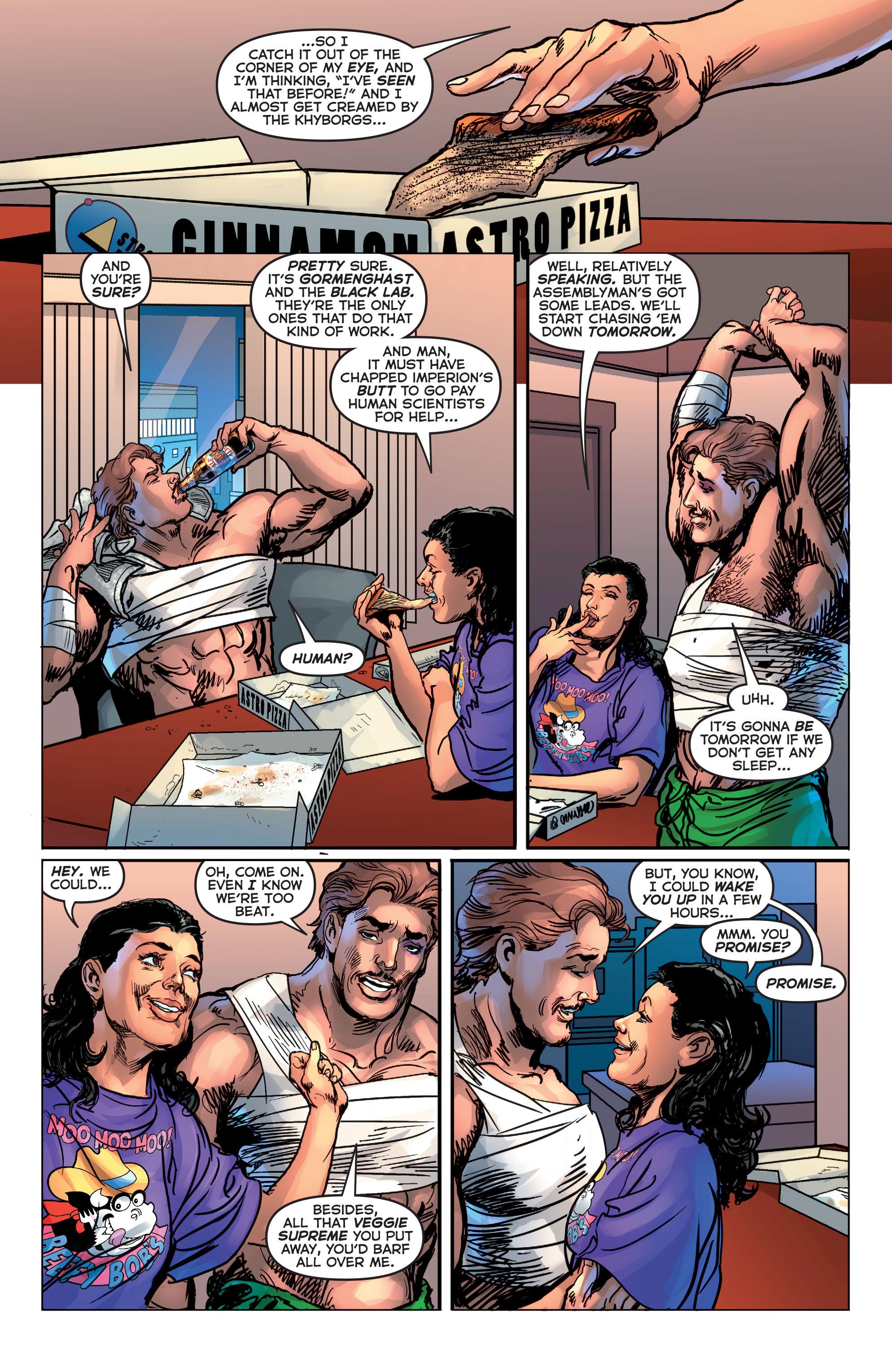 Read online Astro City comic -  Issue #20 - 19