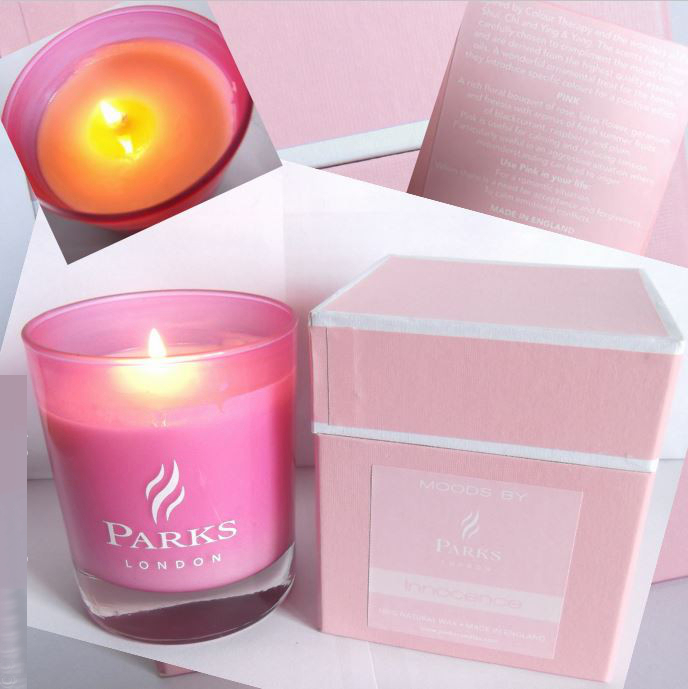 Parks London Bougie Parfumee Innocence Pink Candle Review Photos