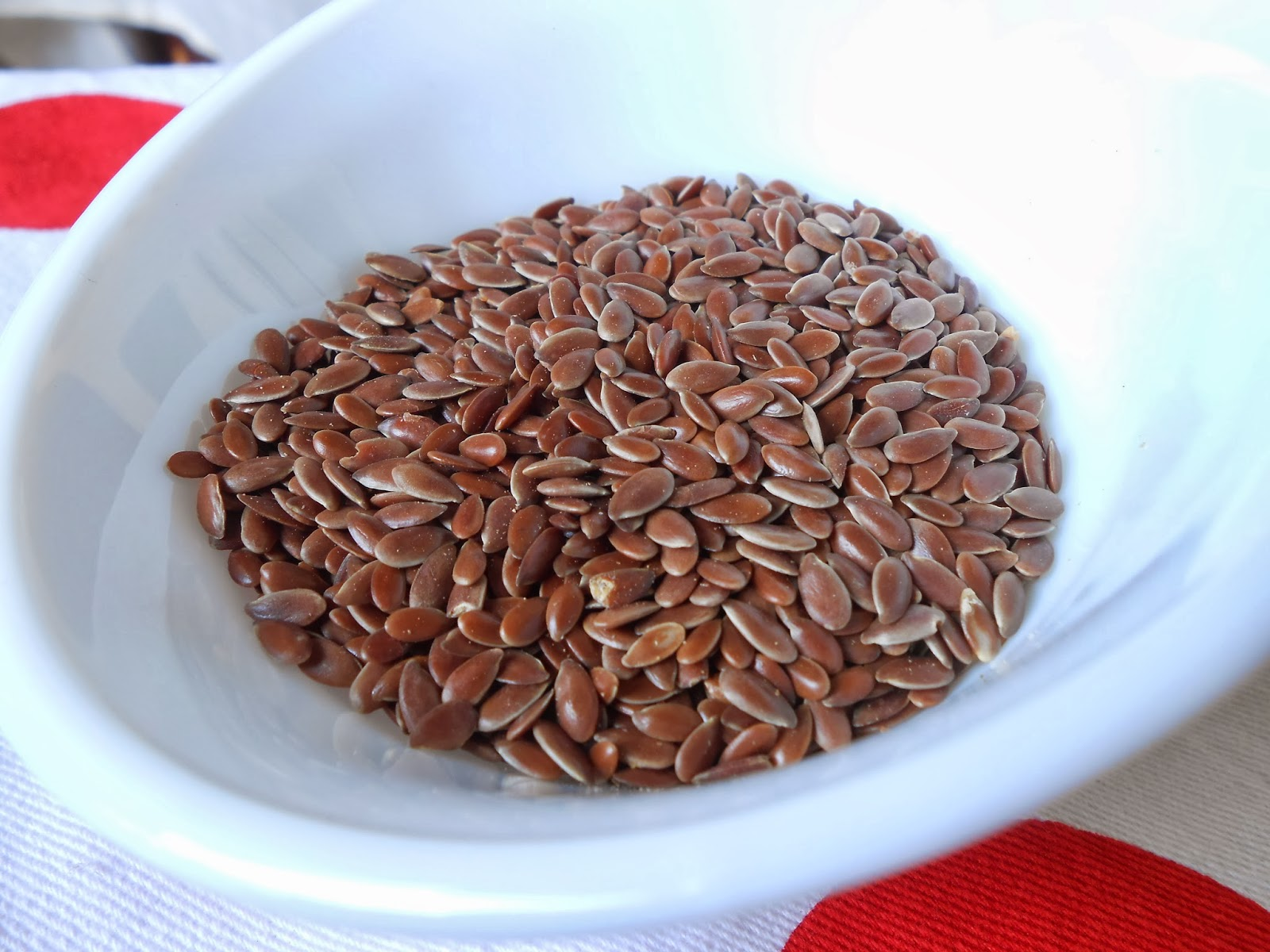 Flax powder for rice